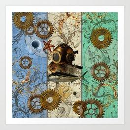 Nautical Steampunk Art Print