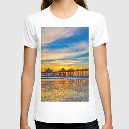 Textured Sand at Sunset T-shirt