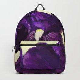 Purple Iris DP150530 Backpack