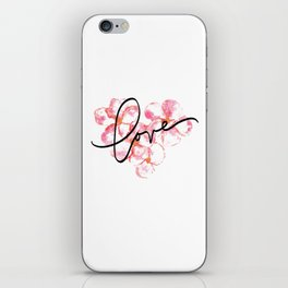 """Plumeria Love - A Romantic way to say, """"I Love You"""" iPhone Skin"""