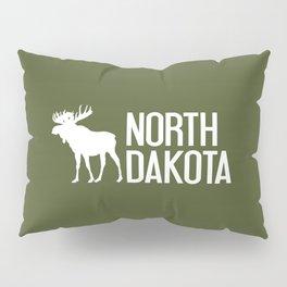 North Dakota Moose Pillow Sham
