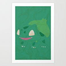 Bulbasaur Art Print
