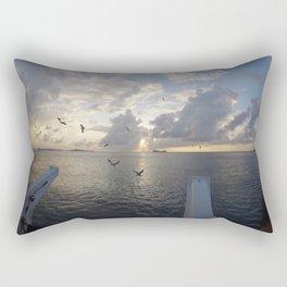 Cayman Island Sunset Rectangular Pillow