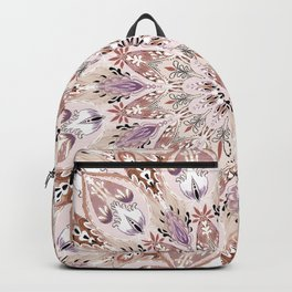Bohemian Soul Mandala Pastel Backpack