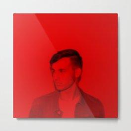 Jacob Whitesides - Celebrity (Florescent Color Technique) Metal Print