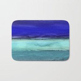 Midnight Waves Seascape Bath Mat