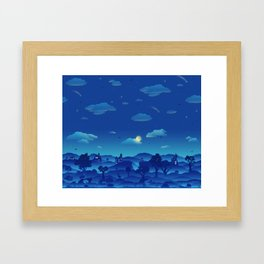 Fairytale Dreamscape Framed Art Print