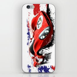 FERRARI 330 - P4  n°23 DAYTONA 1967 iPhone Skin