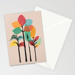Tropical Groove Stationery Cards