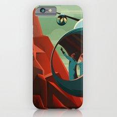 THE VOLCANO OF MARS - Olympus Mons | Space | X | Retro | Vintage | Futurism | Sci-Fi iPhone 6s Slim Case