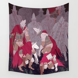 Watchers 2 Wall Tapestry