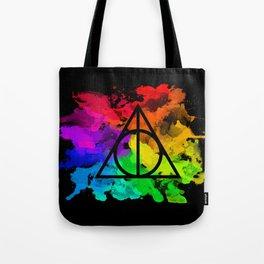 Rainbow Hallows  Tote Bag