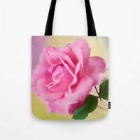 blush Tote Bags featuring Blush by ThePhotoGuyDarren
