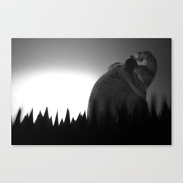 La Traque Canvas Print