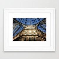 milan Framed Art Prints featuring Milan by Killick