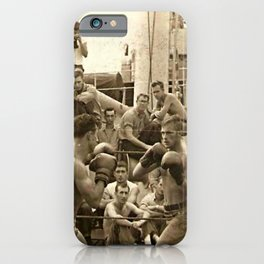Past Time Battles iPhone Case
