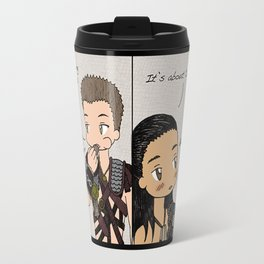 "Nagron ""Separate Paths"" (Spartacus) Travel Mug"