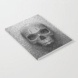 Pixel Skull B&W Notebook