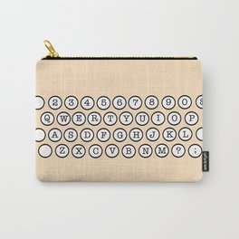 Typewriter Keys Carry-All Pouch