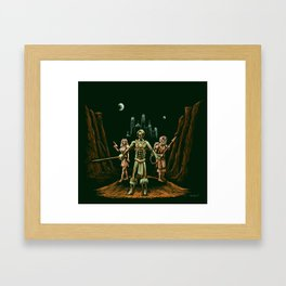 Heroes of Mars Framed Art Print
