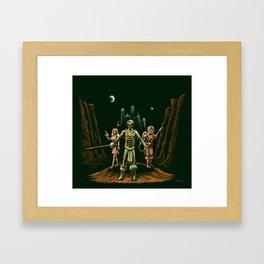 Heroes of Mars Framed Art Print