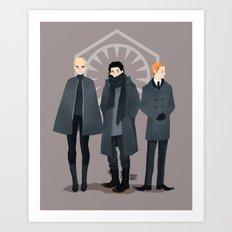 Emo Squad Art Print