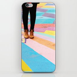 WALKING ON SUNSHINE iPhone Skin