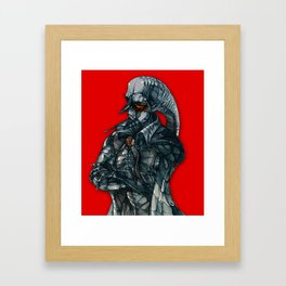 vampire lord Framed Art Print