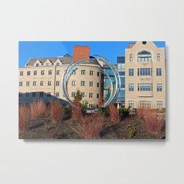 University of Toledo- Stranahan Rings Metal Print