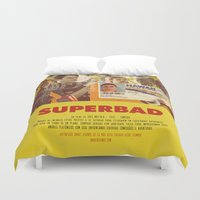 greg guillemin Duvet Covers featuring Superbad - Greg Mottola by Smart Store