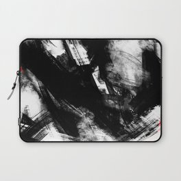 Brooklyn has fallen | Abstract Painting Laptop Sleeve