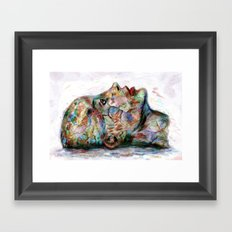 Drawing Conclusions Framed Art Print