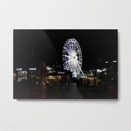 Ferris Wheel Cape Town Metal Print