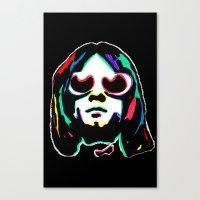 kurt rahn Canvas Prints featuring Kurt   by Butt Ugly Co
