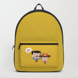 Let's Go! (Yellow Tales Series) Backpack