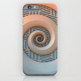 Miami Spiral iPhone Case