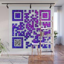 Introvert  QR Code Wall Mural
