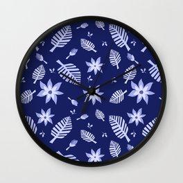 Tropics Print 4 Wall Clock