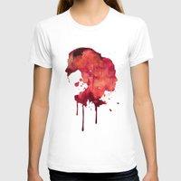 women T-shirts featuring Women by Marta Kozłowska