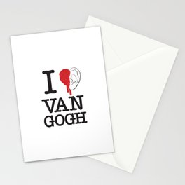 I love Van Gogh Stationery Cards