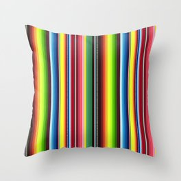 Mexican Blanket No. 1 Throw Pillow