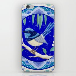 Blue Wren Beauty iPhone Skin