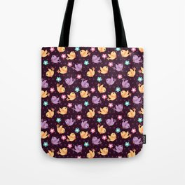 Freely Birds Flying - Fly Away Version 2 - Wine Color Tote Bag
