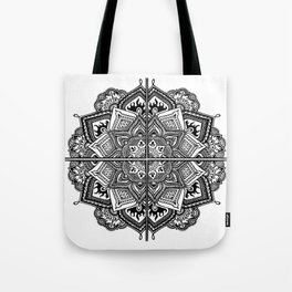Mandala Fleur Tote Bag