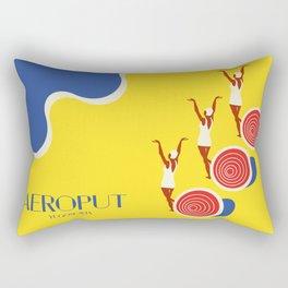 """EX-JU poster """"AEROPUT"""" Rectangular Pillow"""