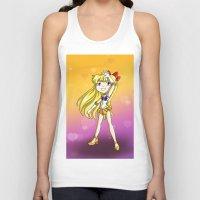 sailor venus Tank Tops featuring Sailor Venus by Thedustyphoenix