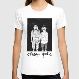 CHEAP GIRLS T-shirt