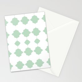 Minty_Geo_Love_ Stationery Cards