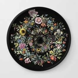 Circle of Life Dark Wall Clock
