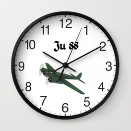 Junkers Ju 88 German WW2 Airplane Wall Clock